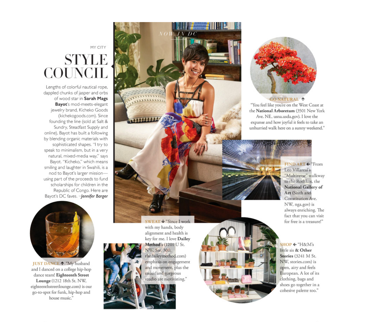 "DC Modern Luxury Magazine - June Issue,  ""Now in DC: Style Council,"" Jennifer Barger. Photo: Greg Powers"