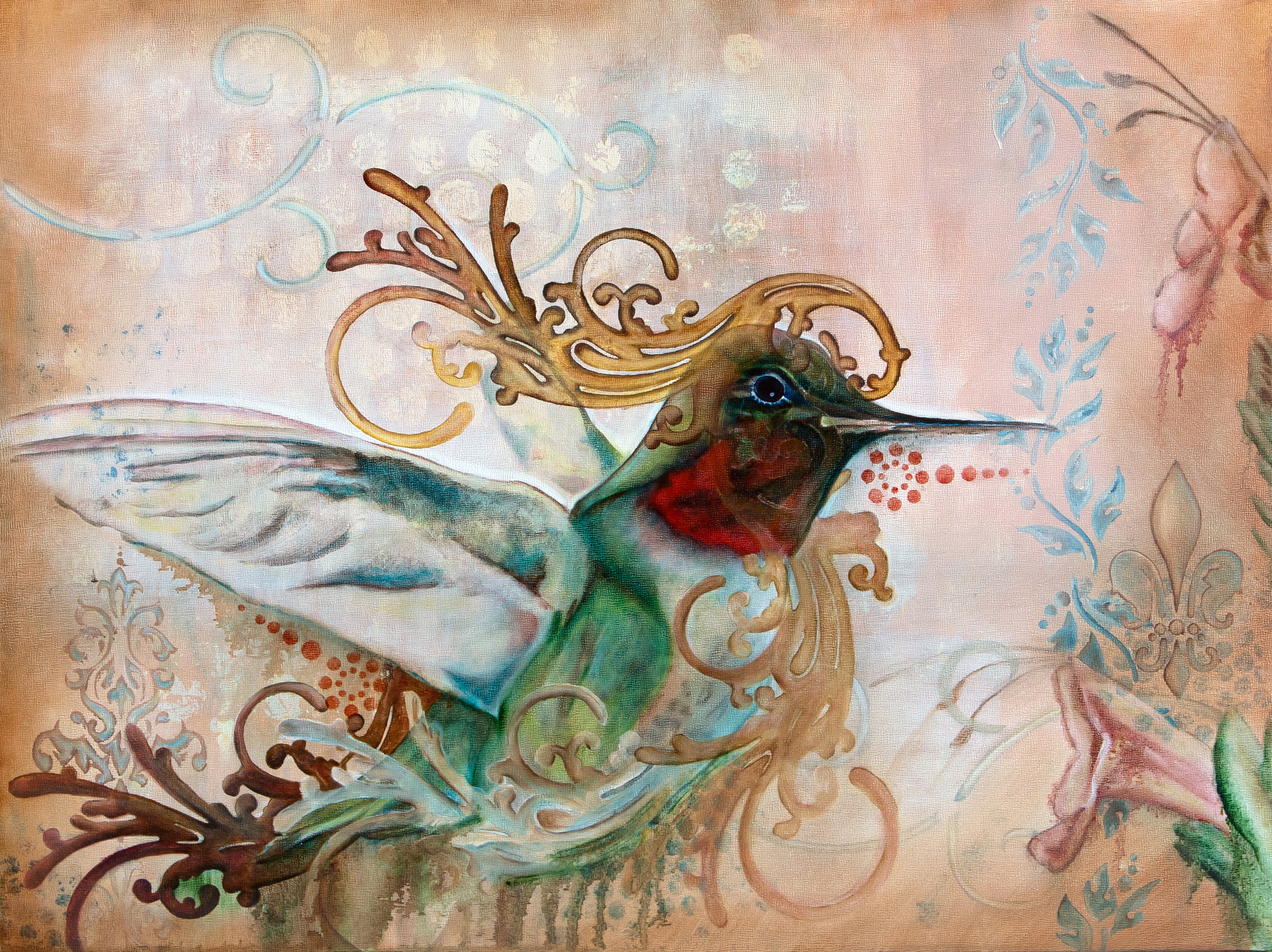 Vol du Colibri