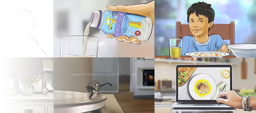 Animatics - Animations to present commercial ideas to clients