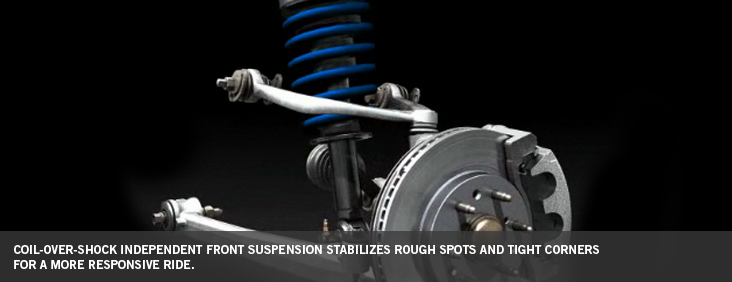 Coil over Shock independent front suspension
