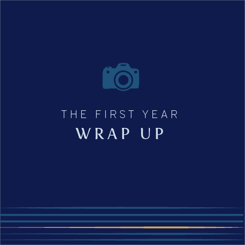 the first year of photography business