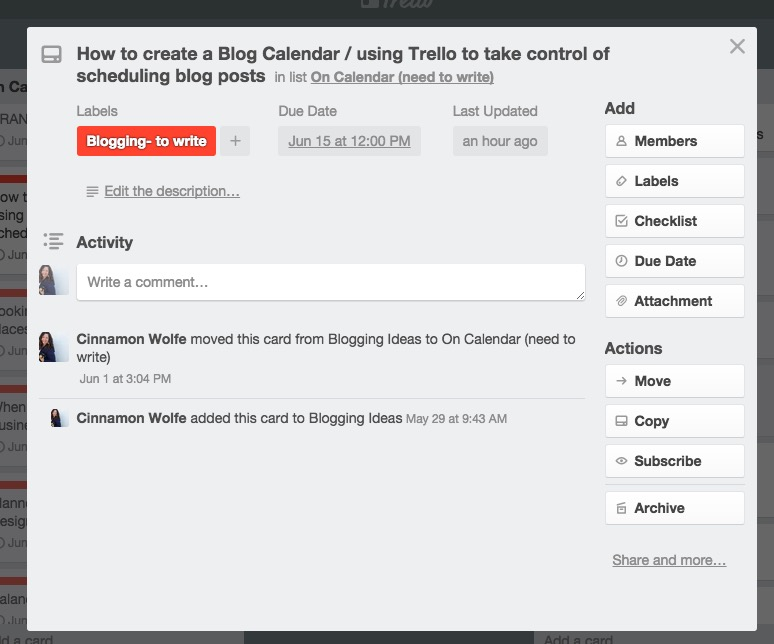 using trello to help with blog schedulingHow to create a blog calendar using Trello | Blog Calendar