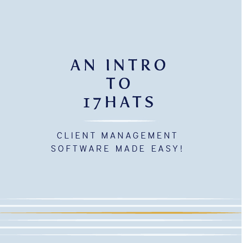 intro to 17hats client mgmt software cinnamon wolfe photography
