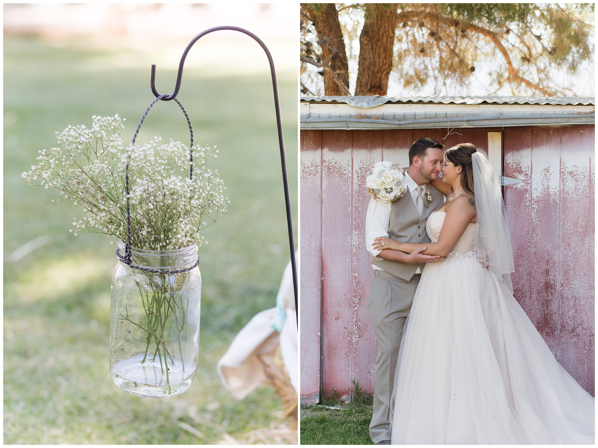 Rustic Blush Barn Wedding | North NJ Wedding Photography