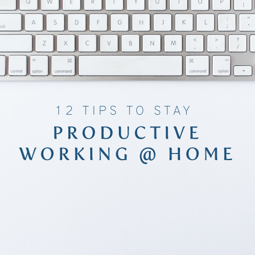 12 tips for staying productive while working from home | Cinnamon Wolfe Photography | NJ Wedding Photographer