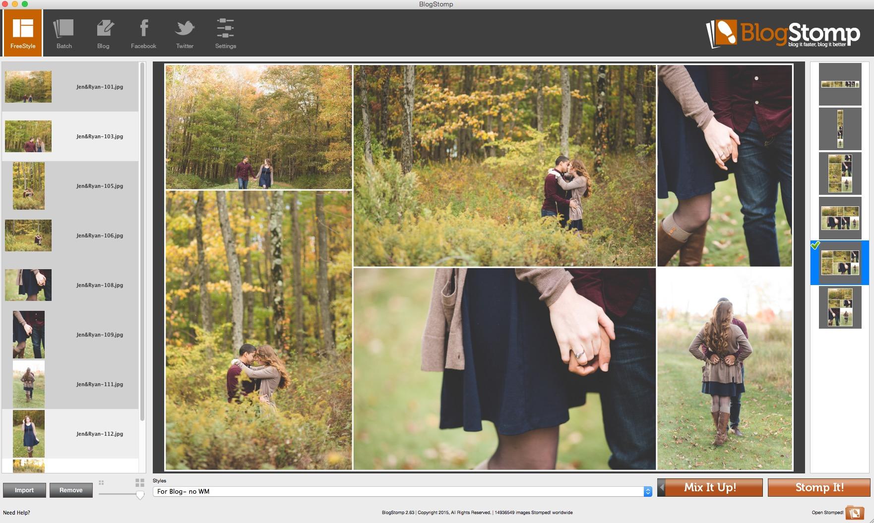Use Blogstomp to resize images for web | Cinnamon Wolfe Photography | NJ Wedding Photographer