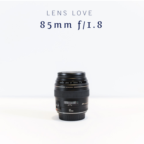Lens Love | 85mm f/1.8 | Cinnamon Wolfe Photography