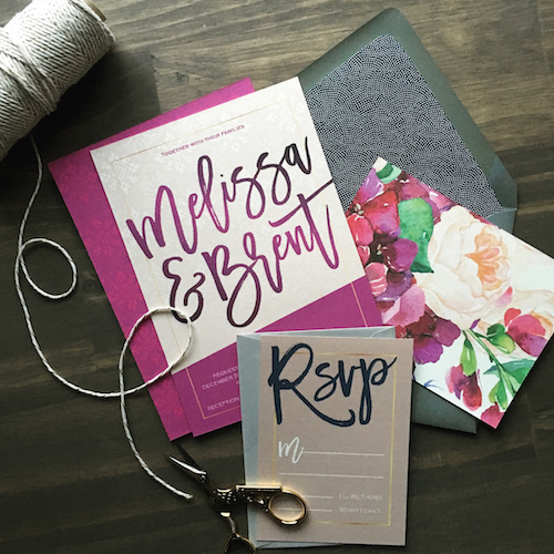 Custom wedding stationery | Cinnamon Wolfe Photography | North NJ Wedding Photographer