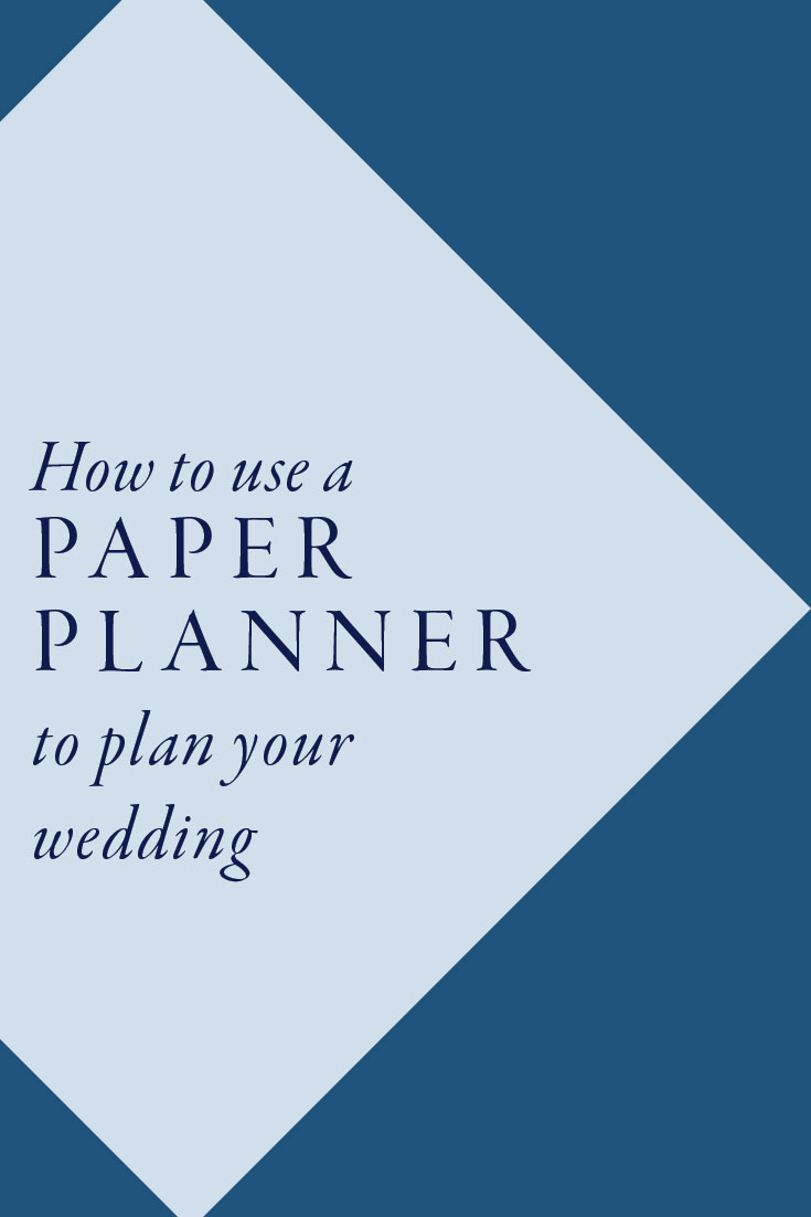 How to use a paper planner to plan your wedding | Cinnamon Wolfe Photography | North NJ Wedding Photographer
