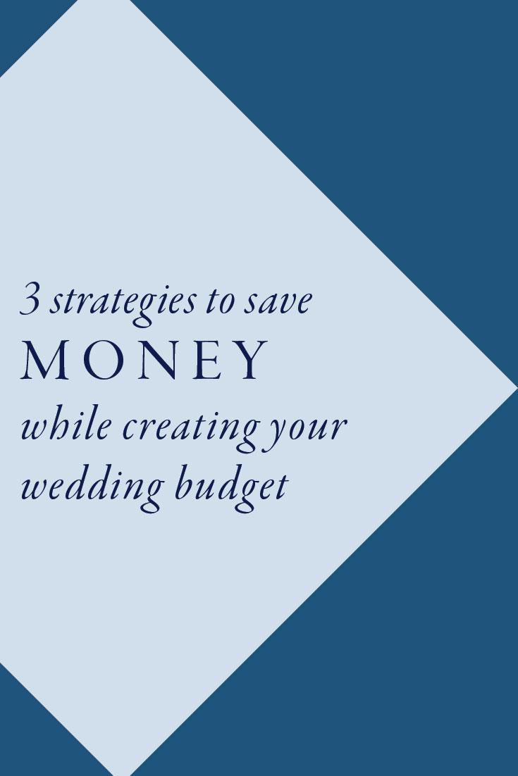 3 strategies to save money while creating your wedding budget | Cinnamon Wolfe Photography | NJ Wedding Photograper