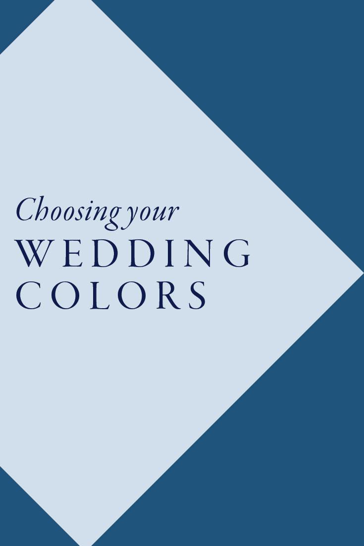Choosing your wedding colors | Cinnamon Wolfe Photography | North NJ Wedding Photographer