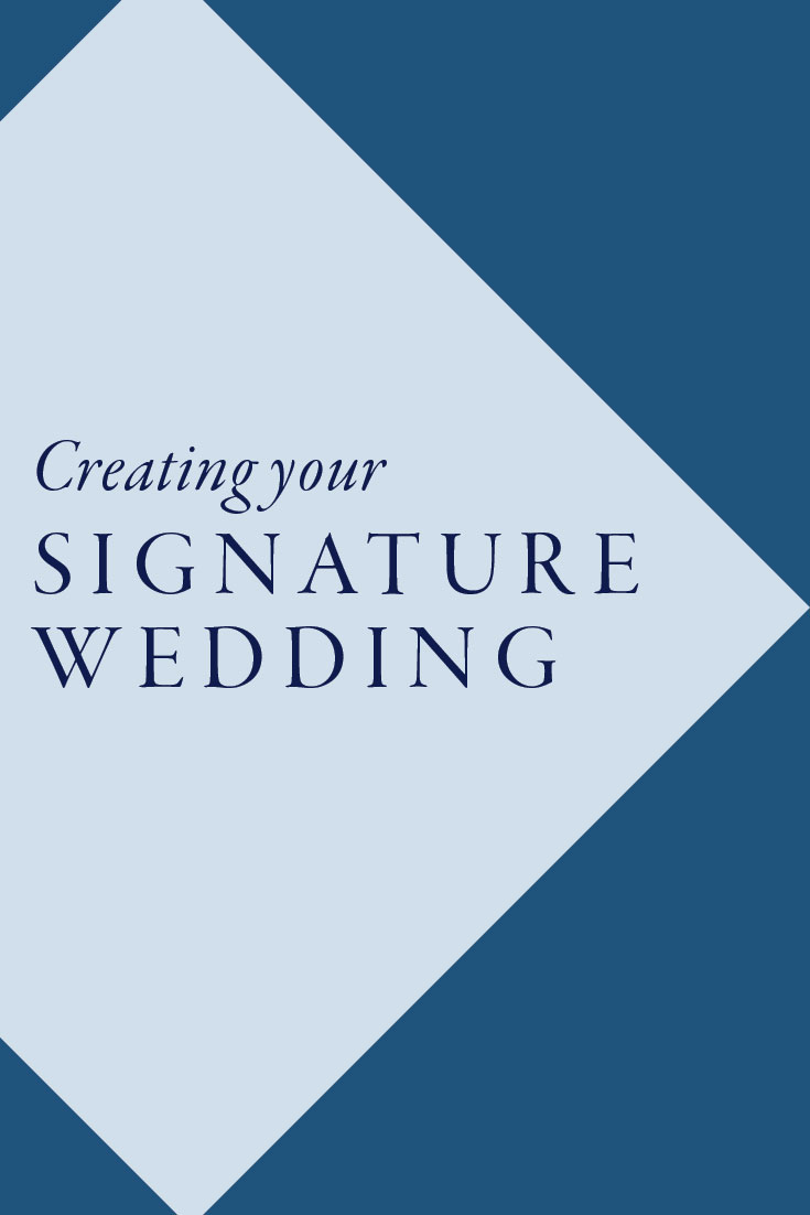 How to create your signature wedding | North NJ Wedding Photographer
