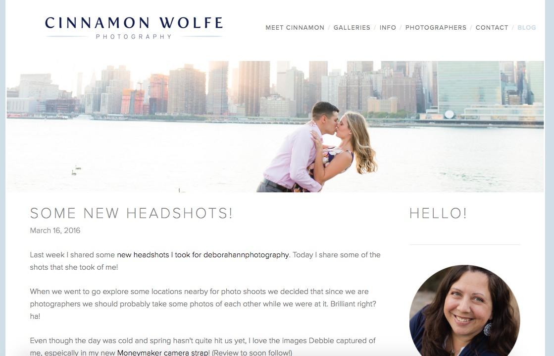 New blog