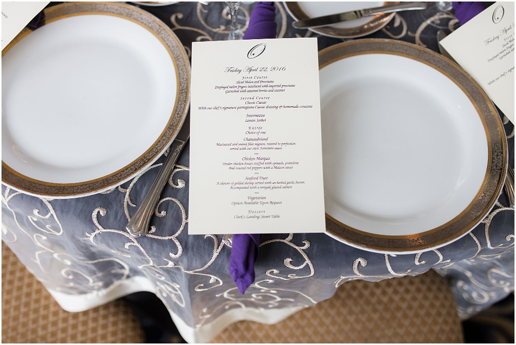 Clarks Landing Wedding decor photos