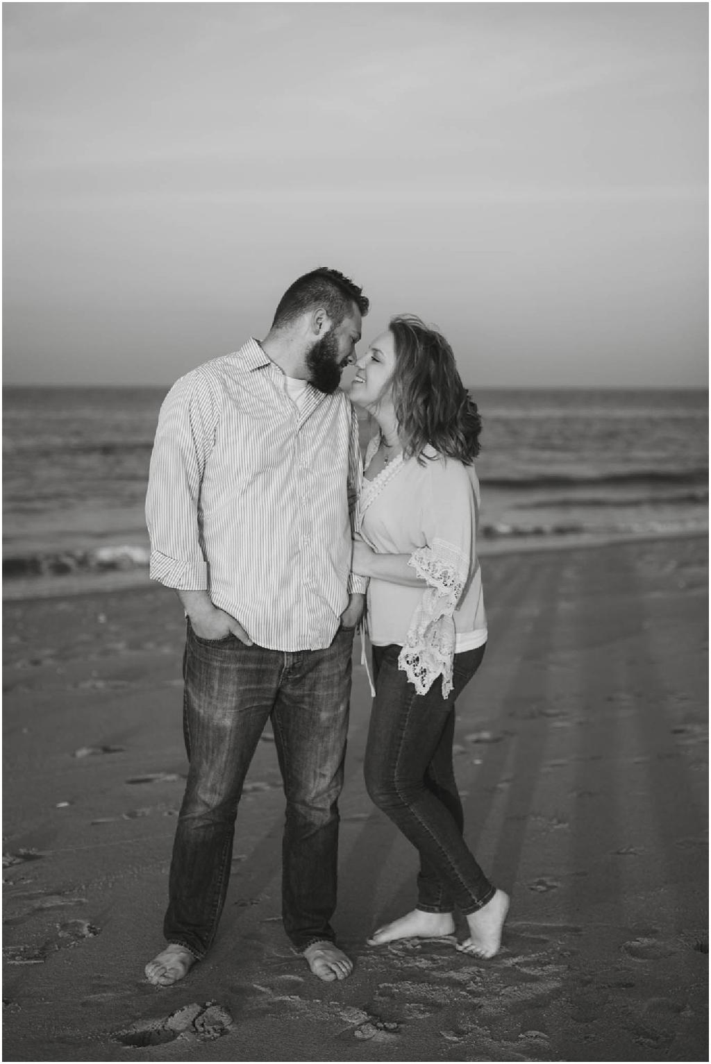Sandy Hook Beach Engagement Session