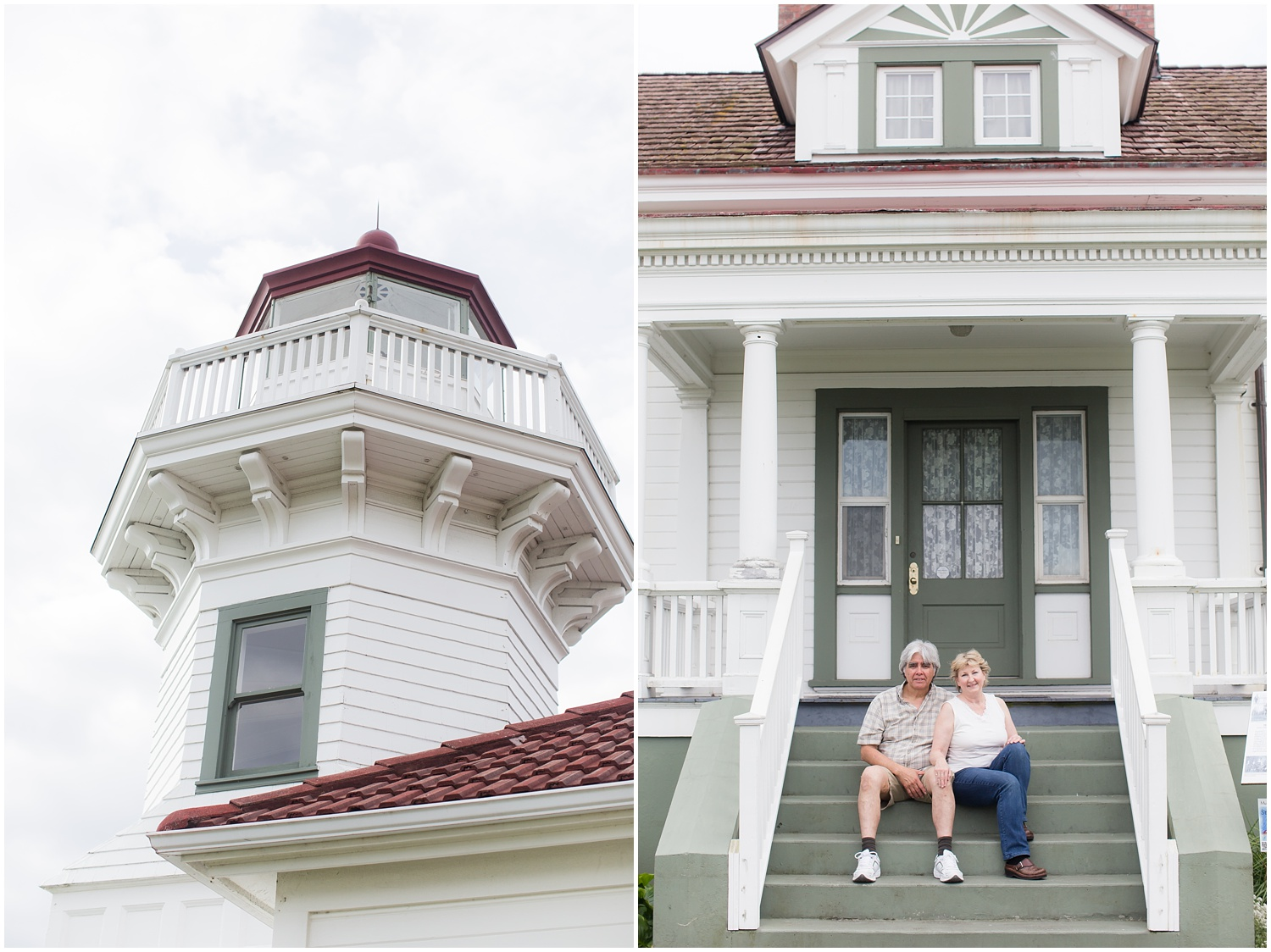 Seattle Anniversary Photographer | Mukilteo Lighthouse