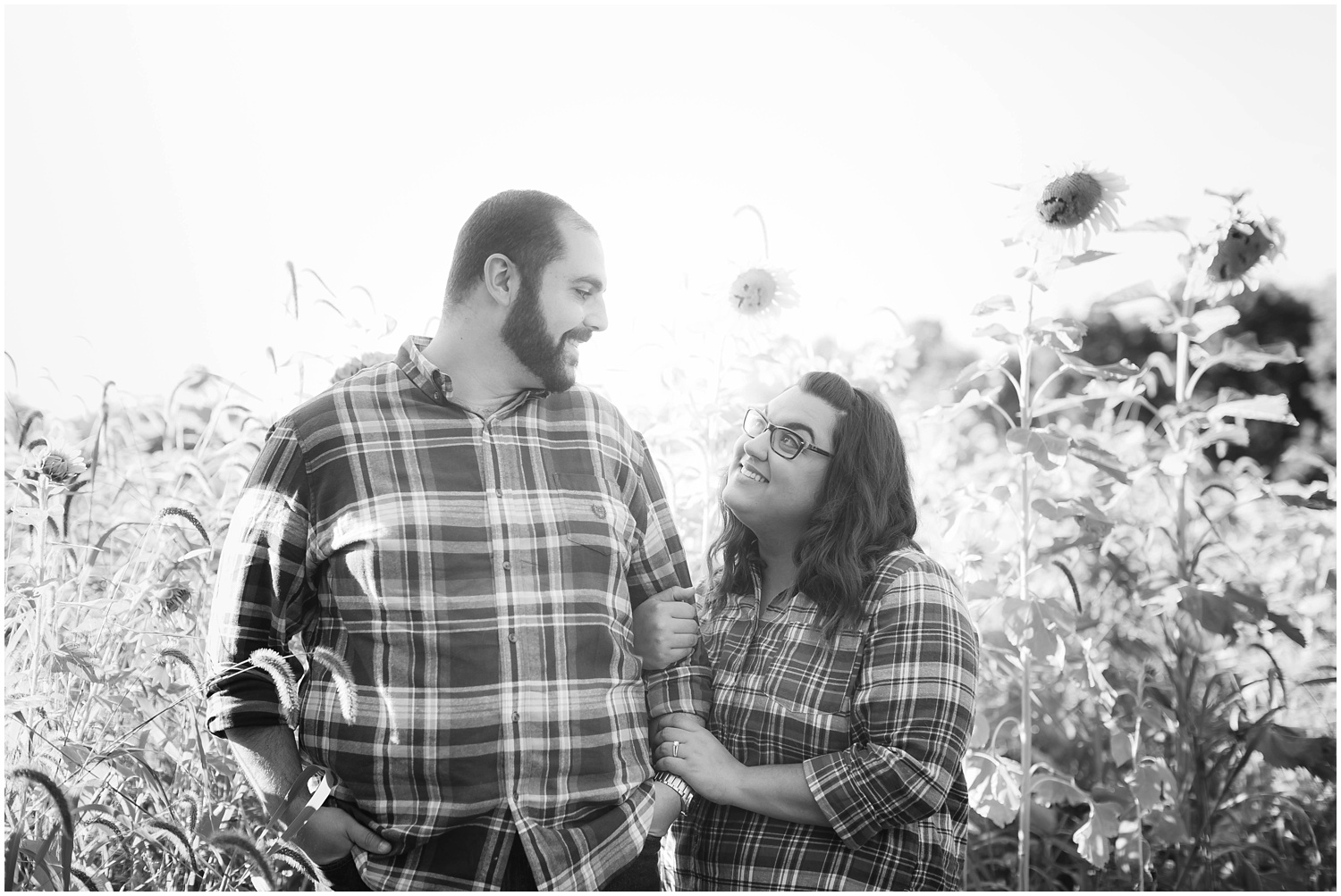 Sunflower Field Engagement Session_0111.jpg