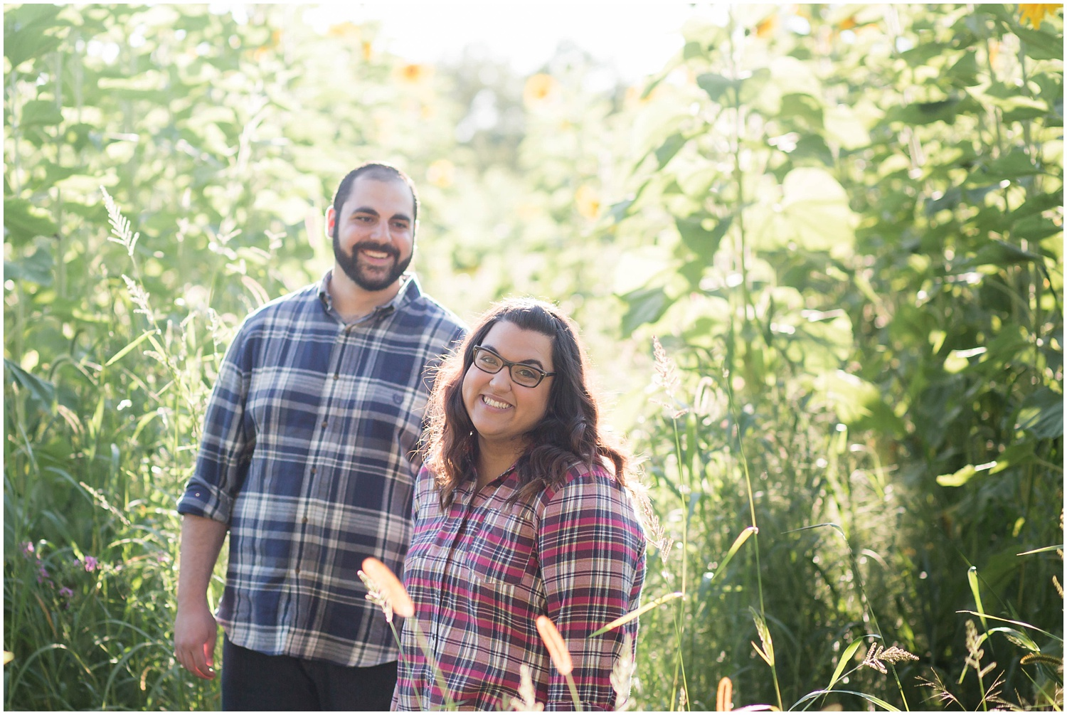 Sunflower Field Engagement Session_0119.jpg