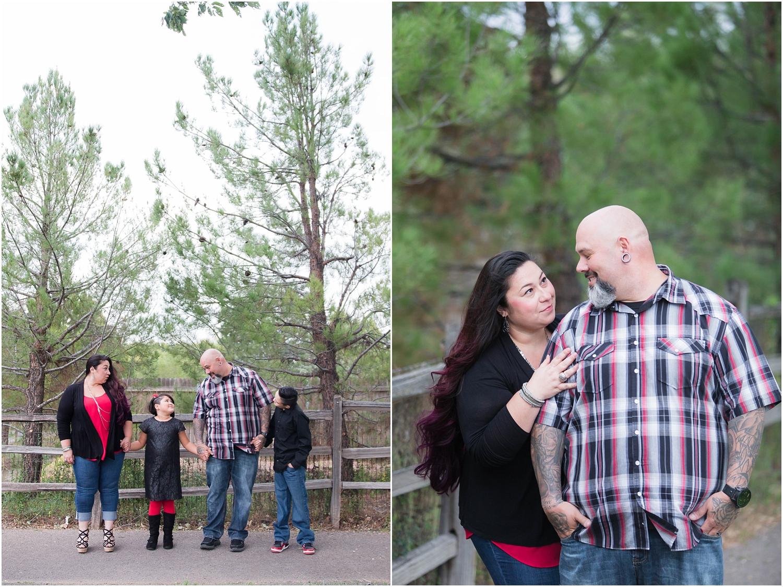Hartnett Park Family Photos in Albuquerque New Mexico  | Family of four photography