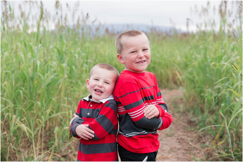 Los Poblanos Open Space Albuquerque Family Photography | Family of four photography