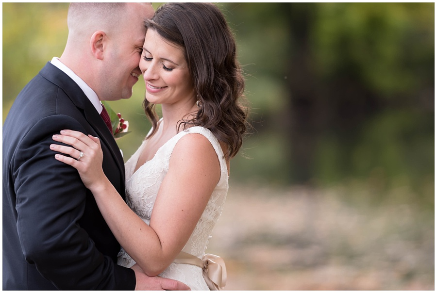 Intimate Fall wedding at Ninety Acres