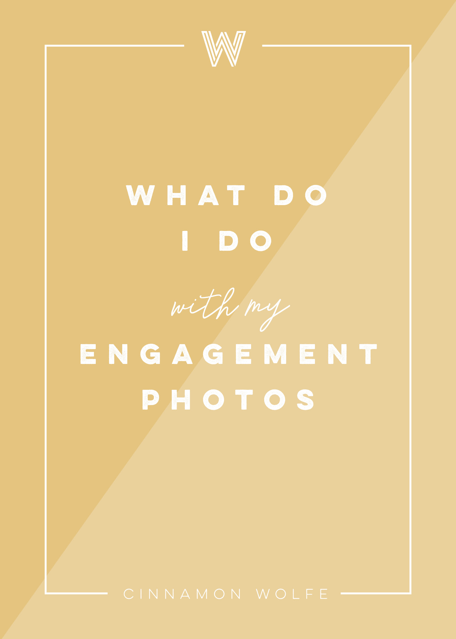 What do I do with my Engagement Photos? | Engagement Photography | Tips for Brides | Cinnamon Wolfe Photography | NJ Wedding Photographer