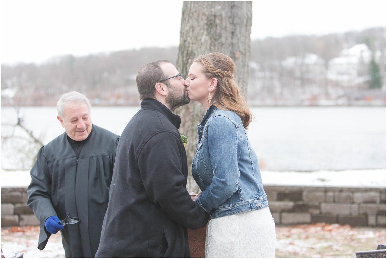 Outdoor wedding in Budd Lake, NJ