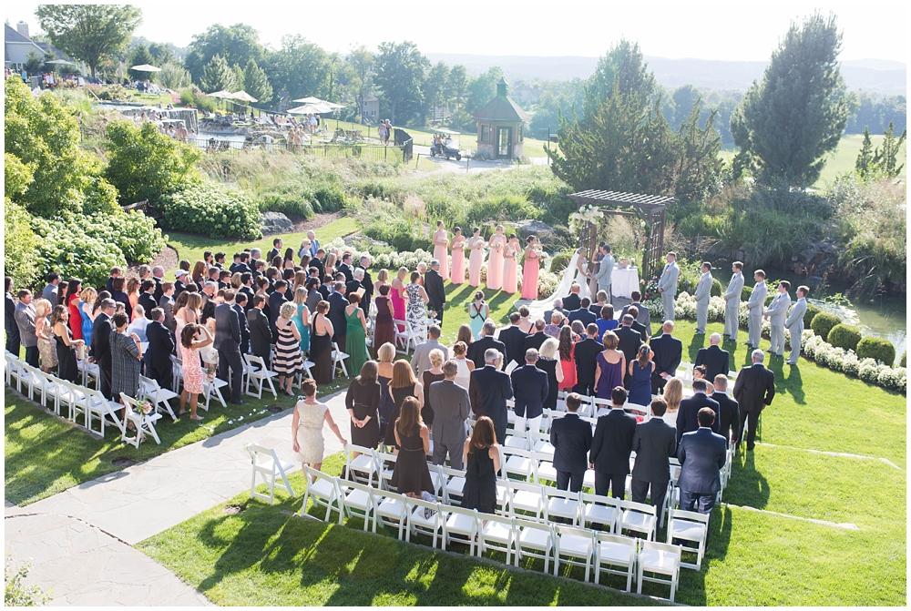 wedding at Crystal Springs Golf Resort