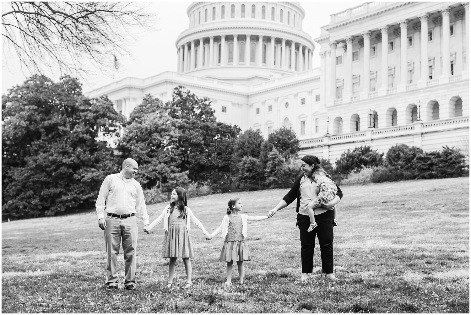 Washington DC Family Photography | Family Photos at the Capitol Building