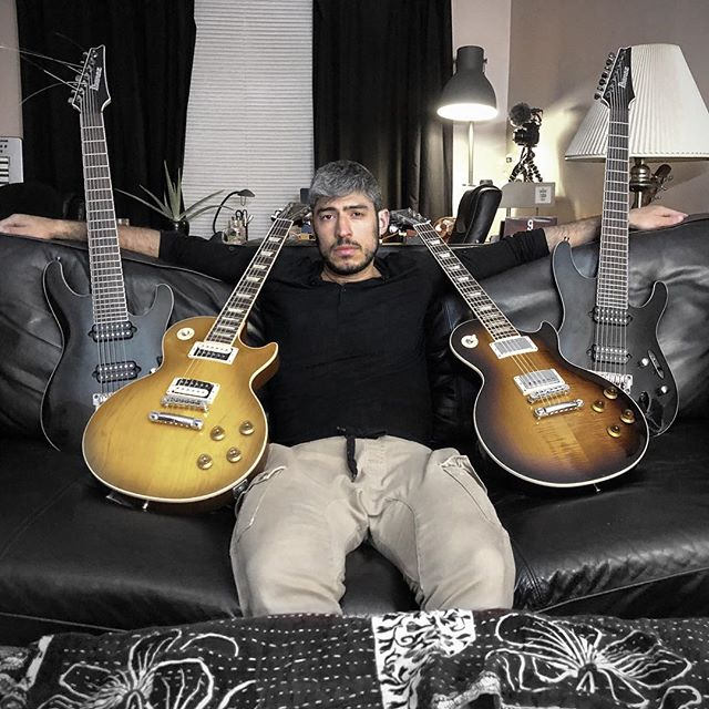 @era9jona got his side chicks ready for the show Friday May 25th 🎸 Have you bought your tickets yet? 🎫 DM us for tickets #ERA9 #MTL #TrapRock @deanmarkleyusa • • • #guitar #guitarist #musician #Gibson #lespaul #lespaulstandard #slash #ibanez #7string #6string #deanmarkley #rock #trap #hiphop #electronic #producer #vibe #inspiredbysound