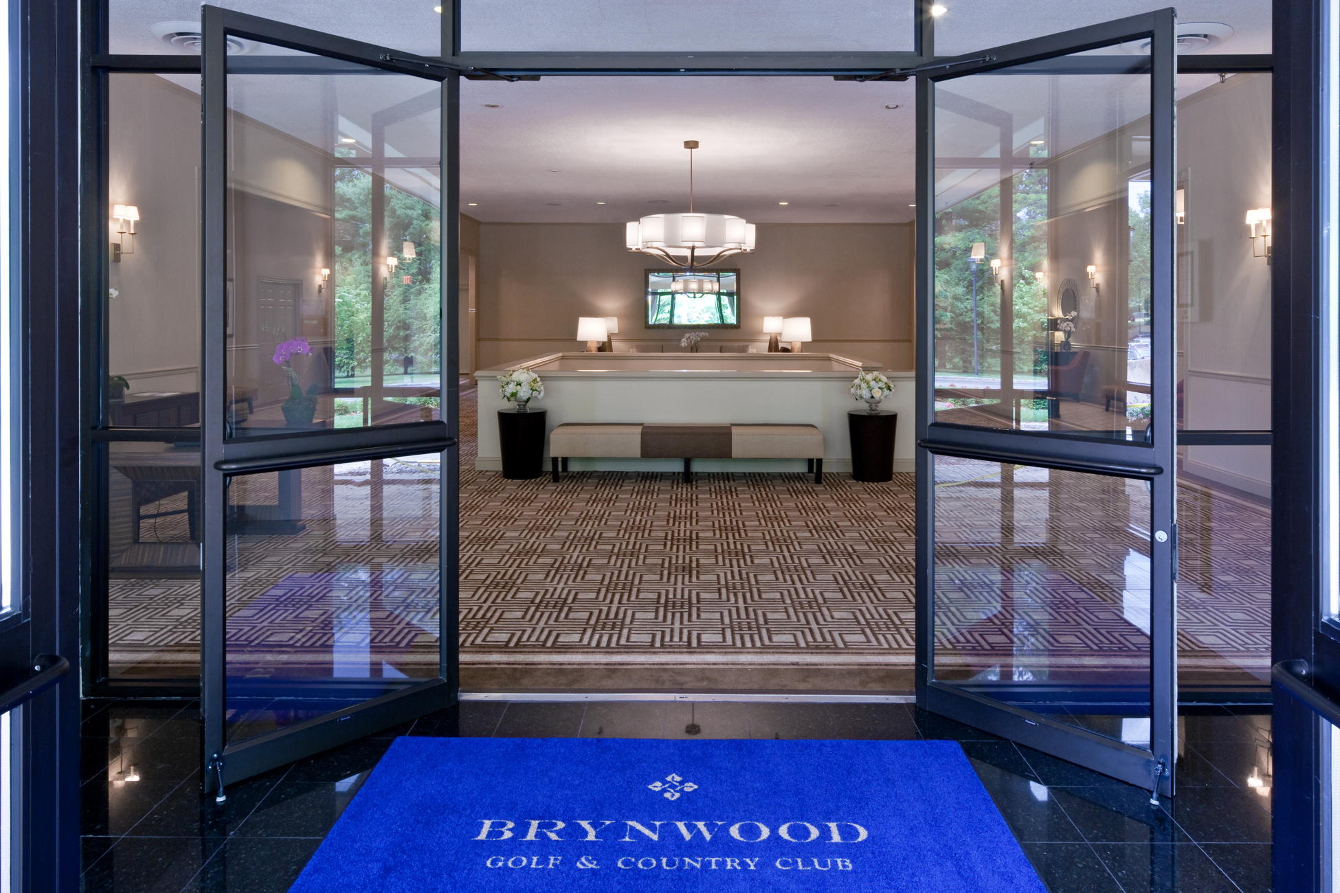 Brynwood Golf and Country Club  Naming, brand narrative and concept, copywriting, logo design, exhibit design and writing, and brand applications