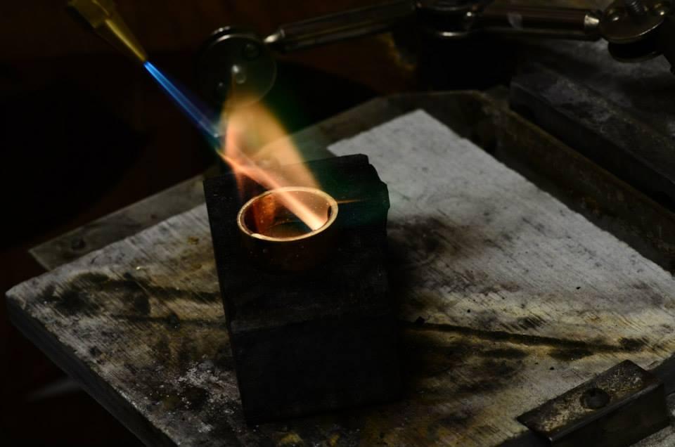 Melting gold in a crucible.jpg