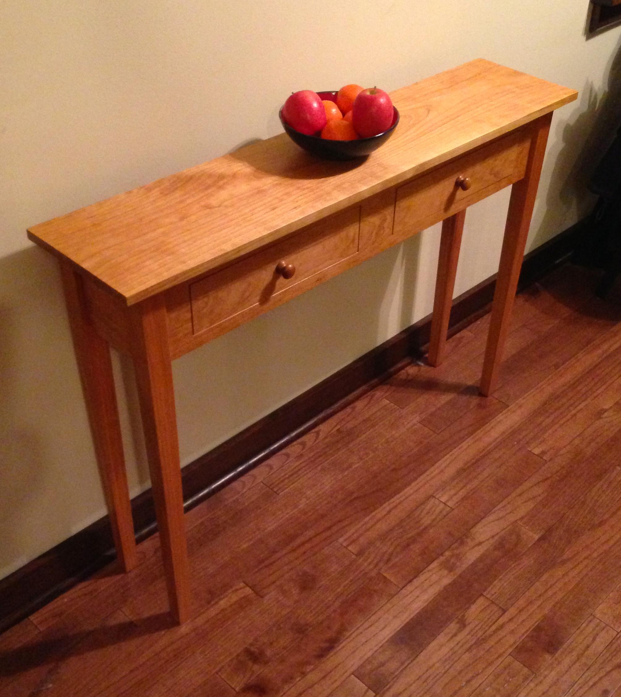 wholesale dealer 4d971 6ef4d Shaker Sofa Table — DCW Woodworks