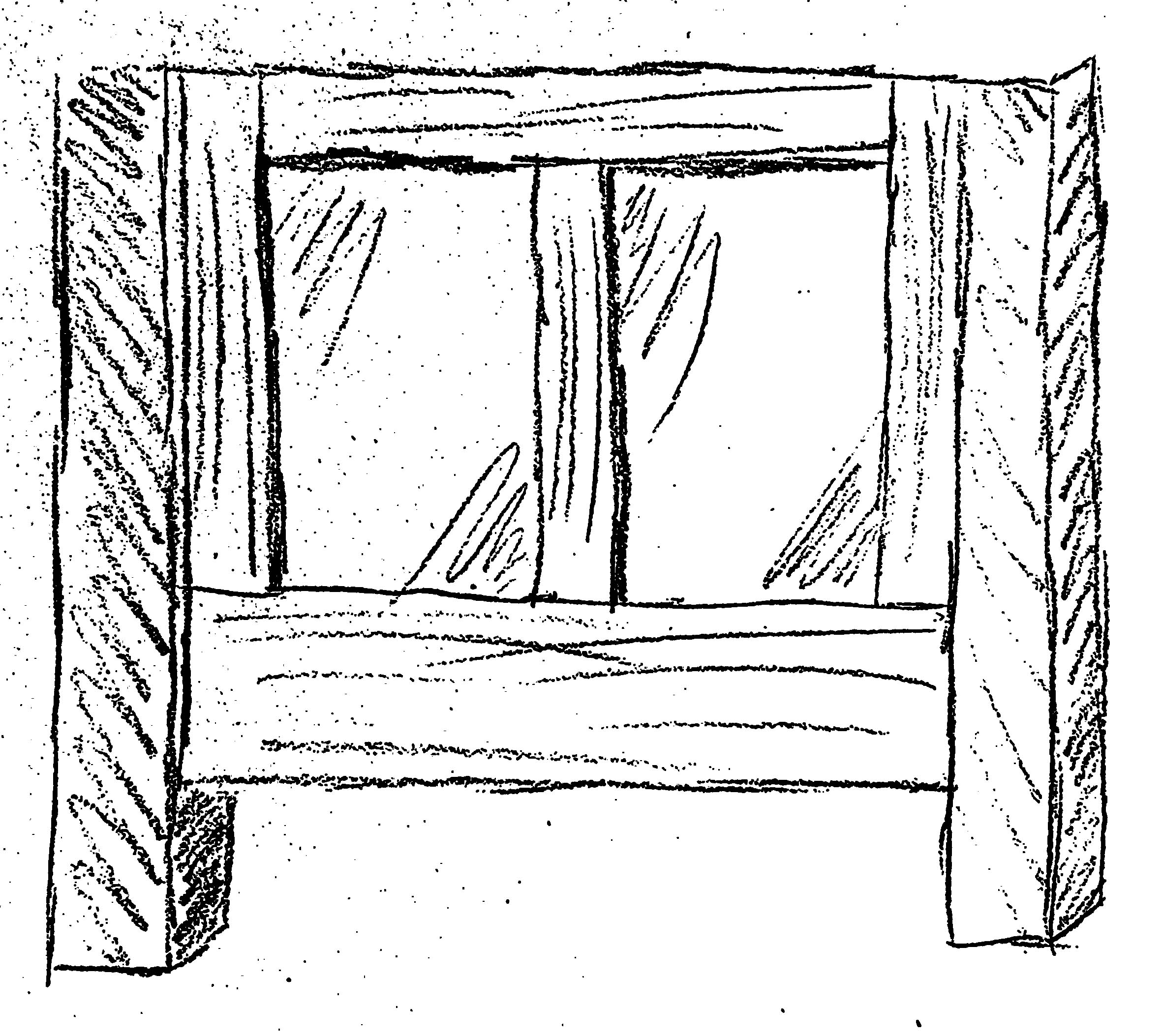 Frame and panel style sides