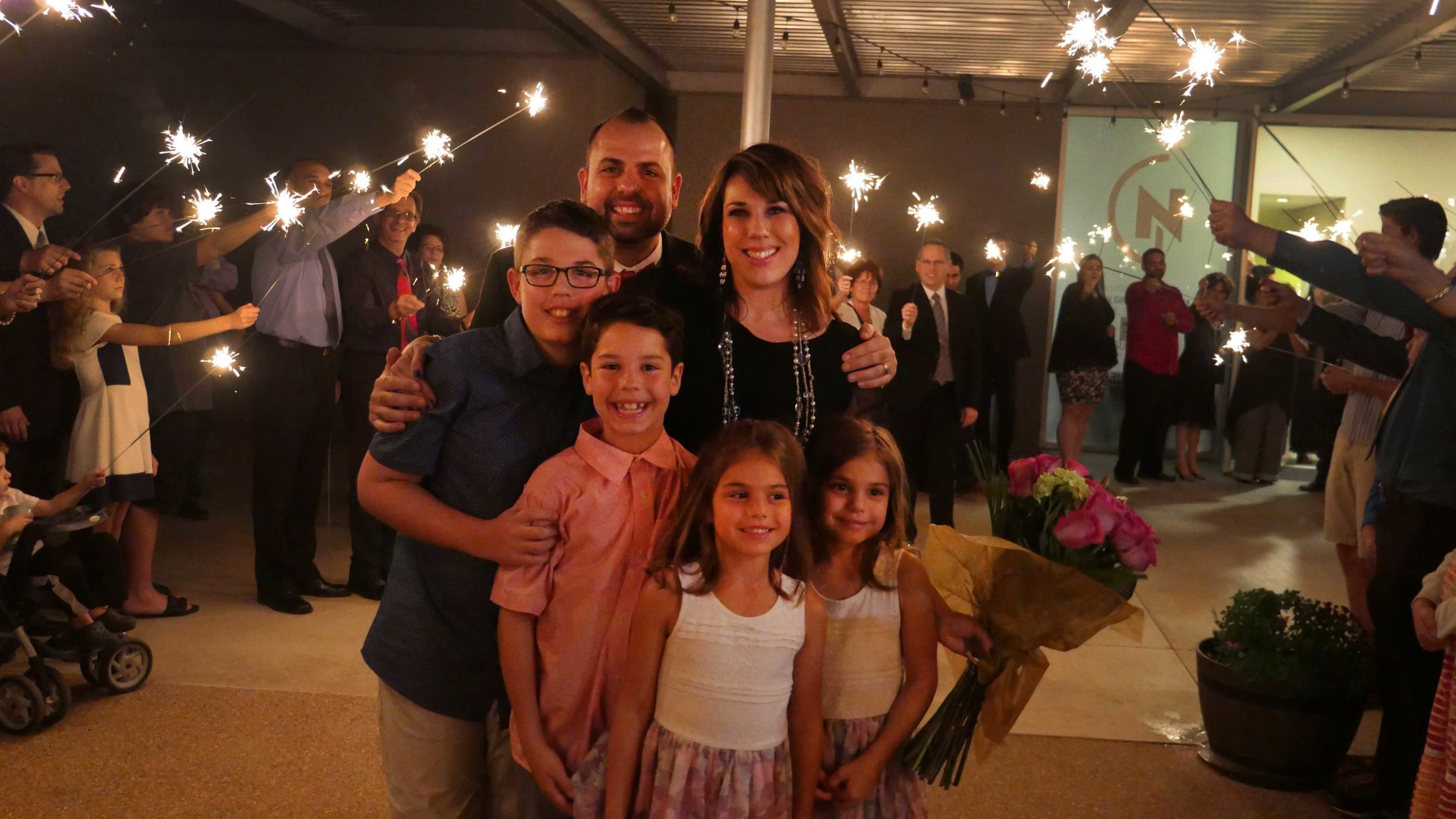 4 – Grand Exit – Pastor Scott and Lydia Send-Off Party – Christie Lukes Photography.jpg