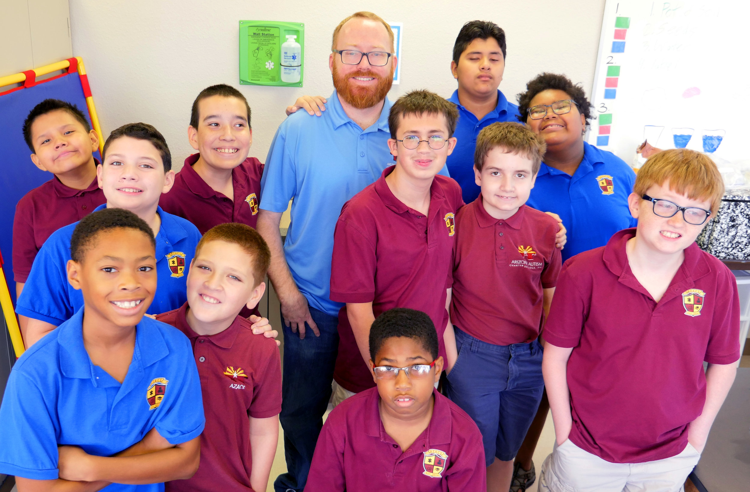 Staff with student 7 – AZACS Upper School – Campus Photos Fall 2017 –Christie Lukes Photography.JPG