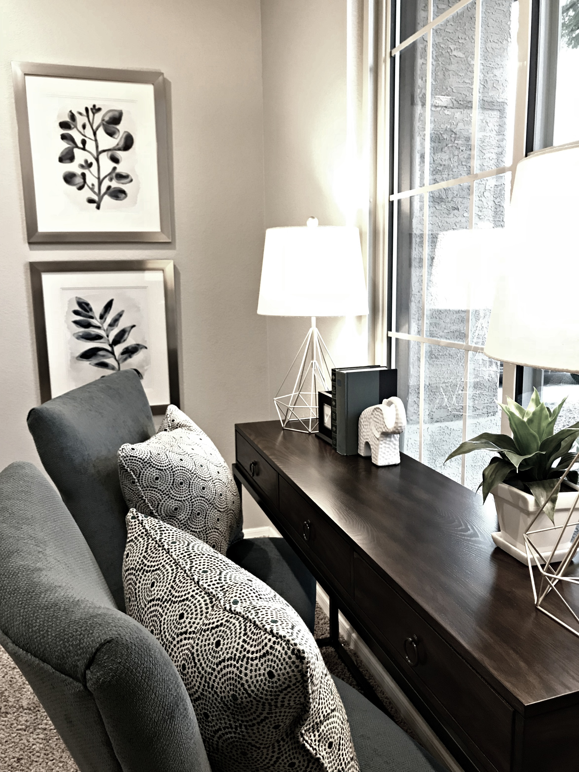 Front and Center Home Staging Property Enhancement