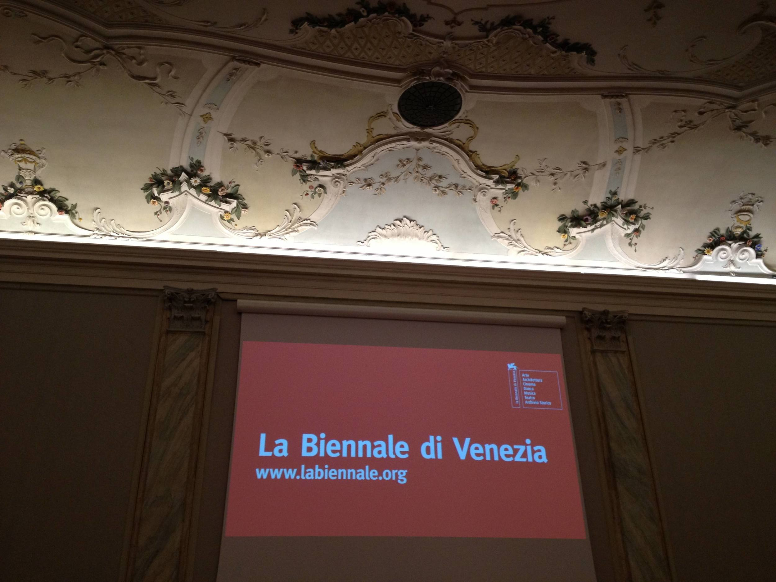 La Biennale di Venezia - Ca' Giustinian