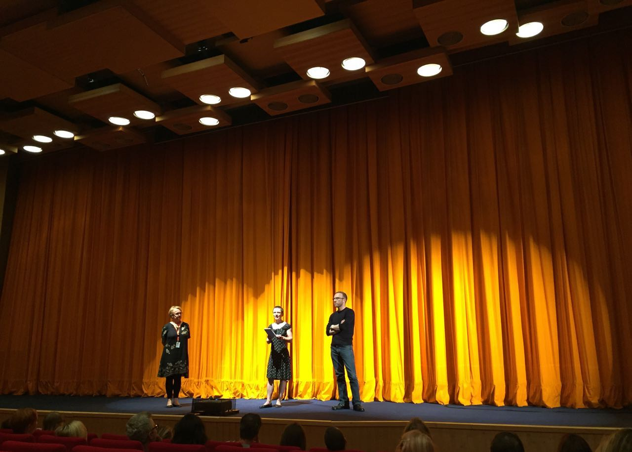 Q&A with Vatche Boulghourjian after the full house screening at the Karlovy Vary International Film Festival
