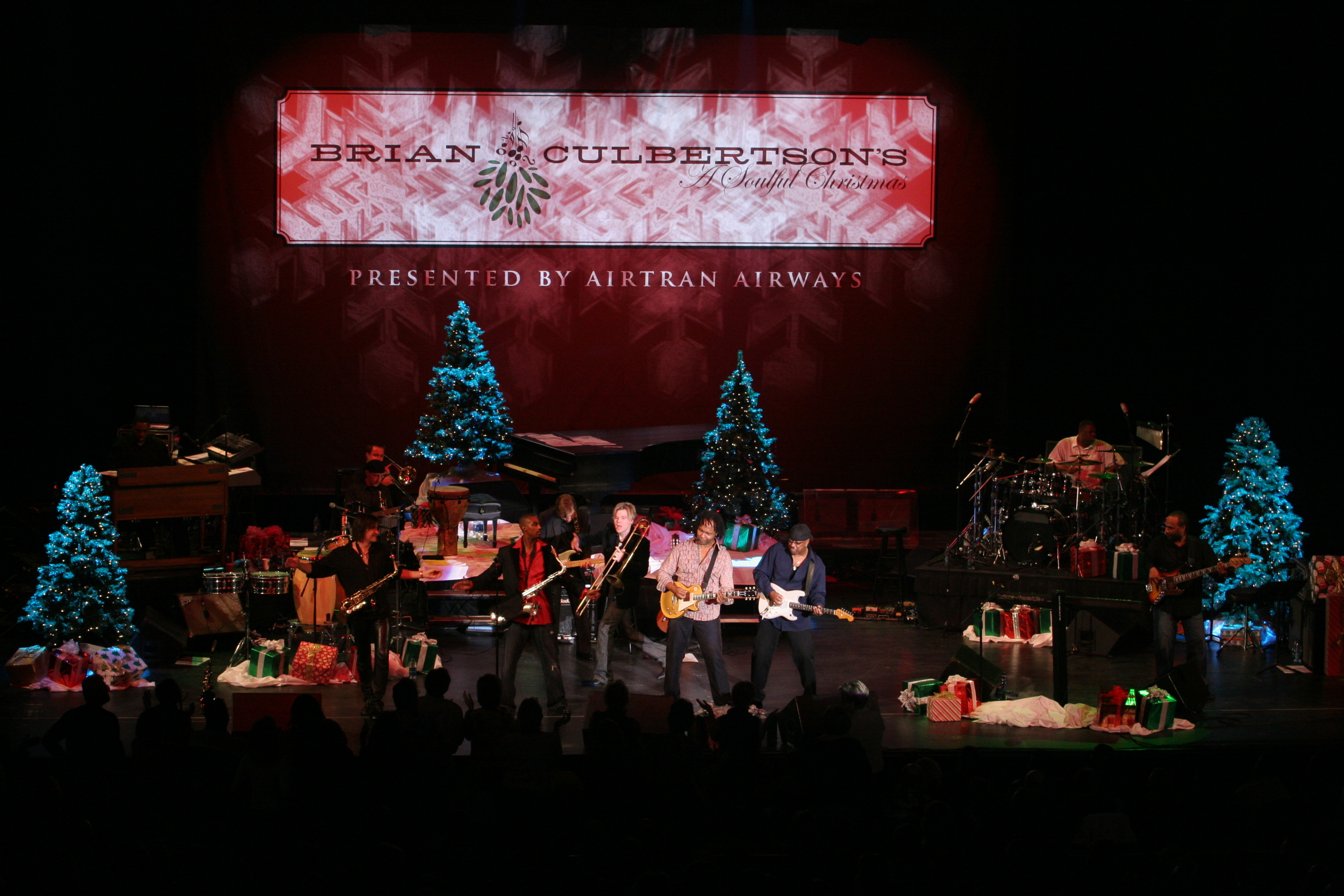 "Brian's first ""A Soulful Christmas"" Tour which featured Bobby Caldwell, Warren Hill, Ray Parker Jr. and Eric Darius."