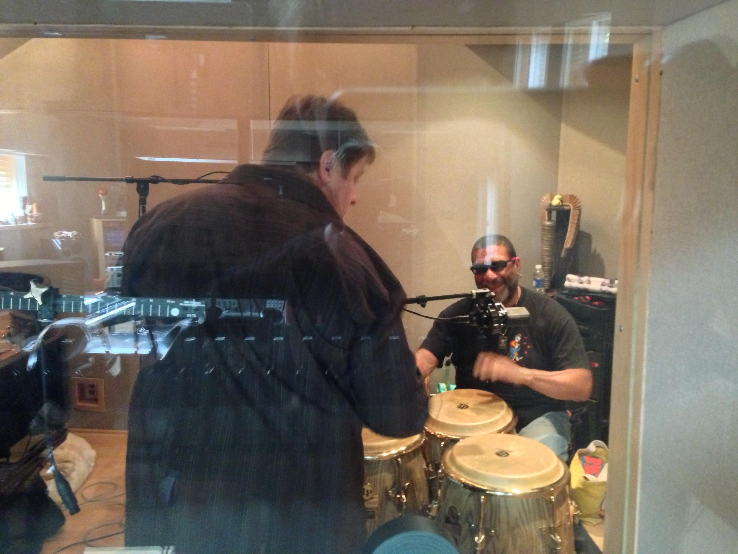 Bob setting up Lenny.JPG