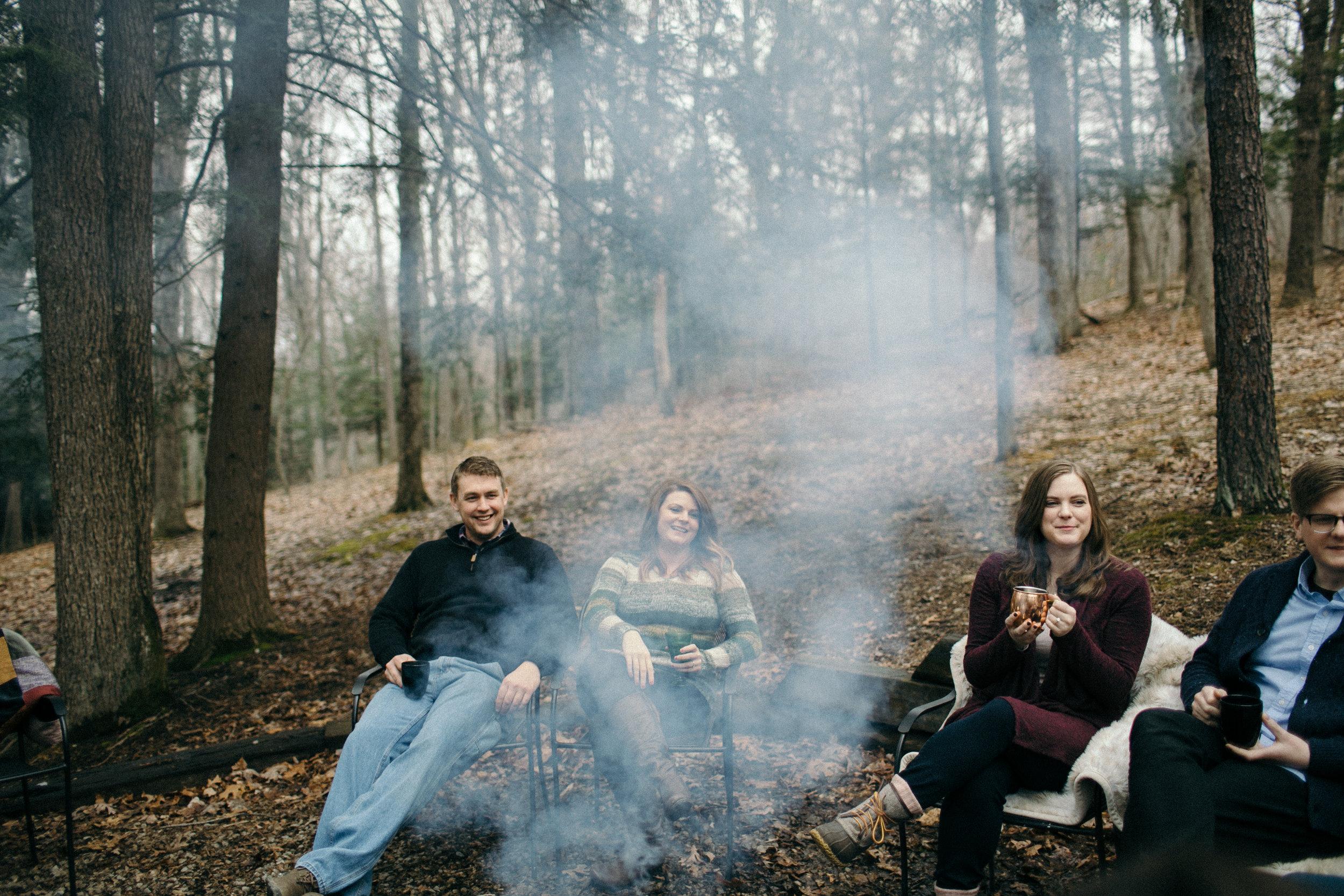 jake and krysti columbus ohio engagement photography by sarah rose