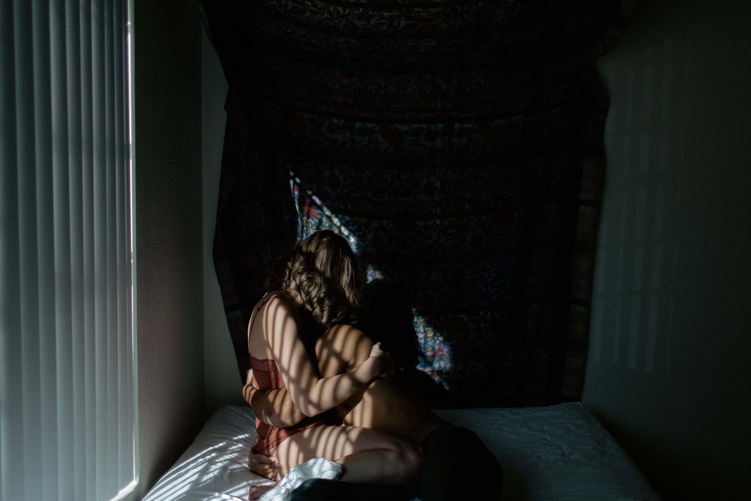 at home couples session boudoir photography arizona ohio