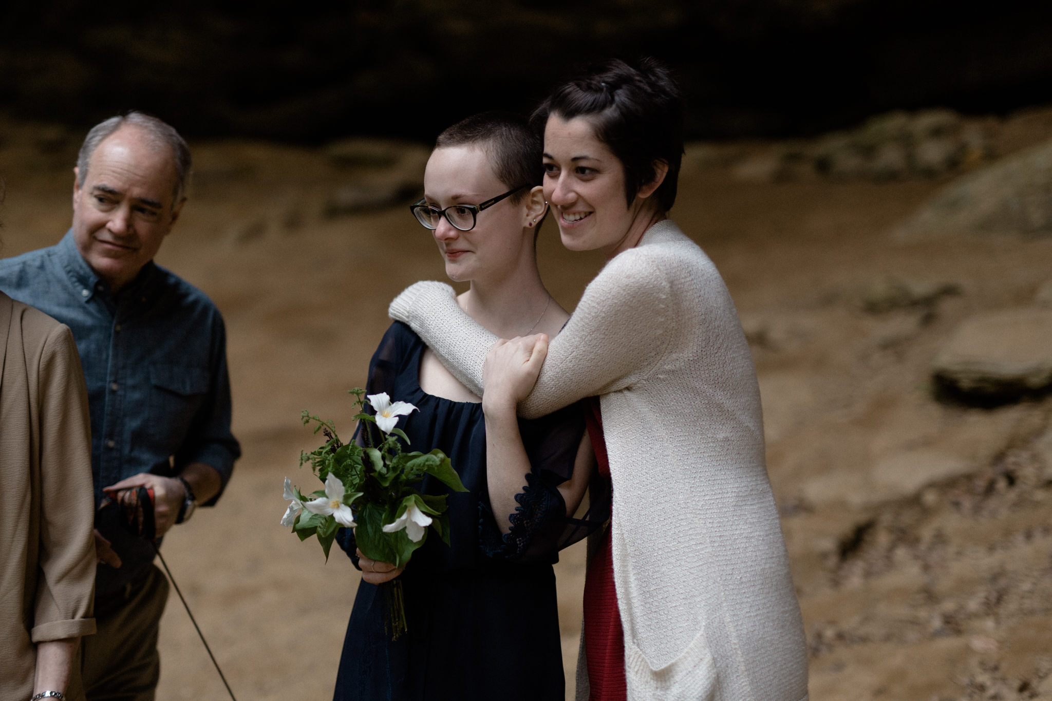 dayton ohio wedding photographer sarah rose hocking hills intimate wedding photography