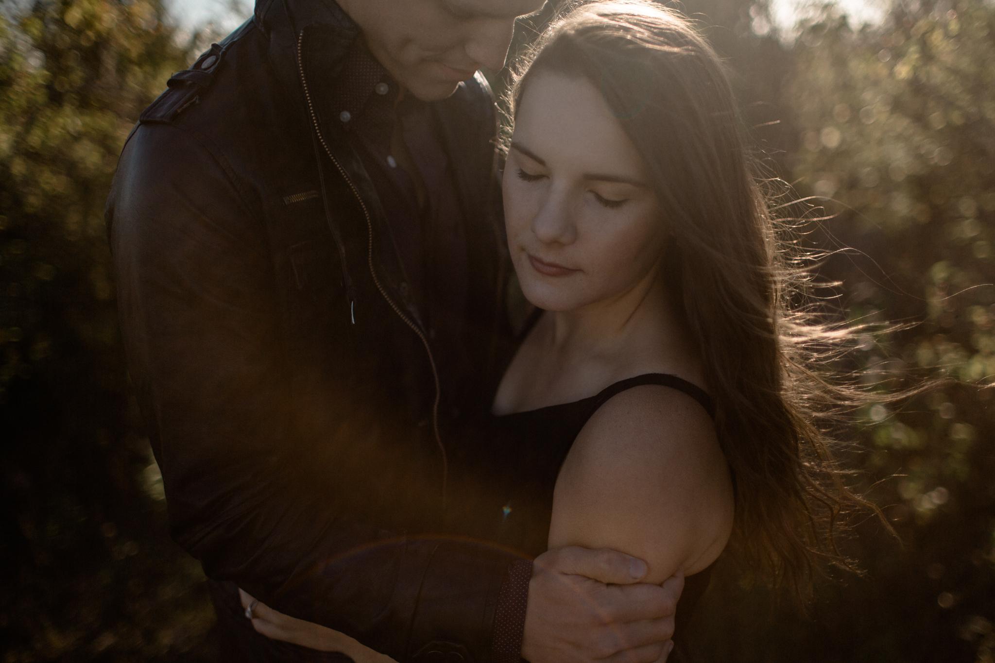 columbus ohio desert inspired engagement photography