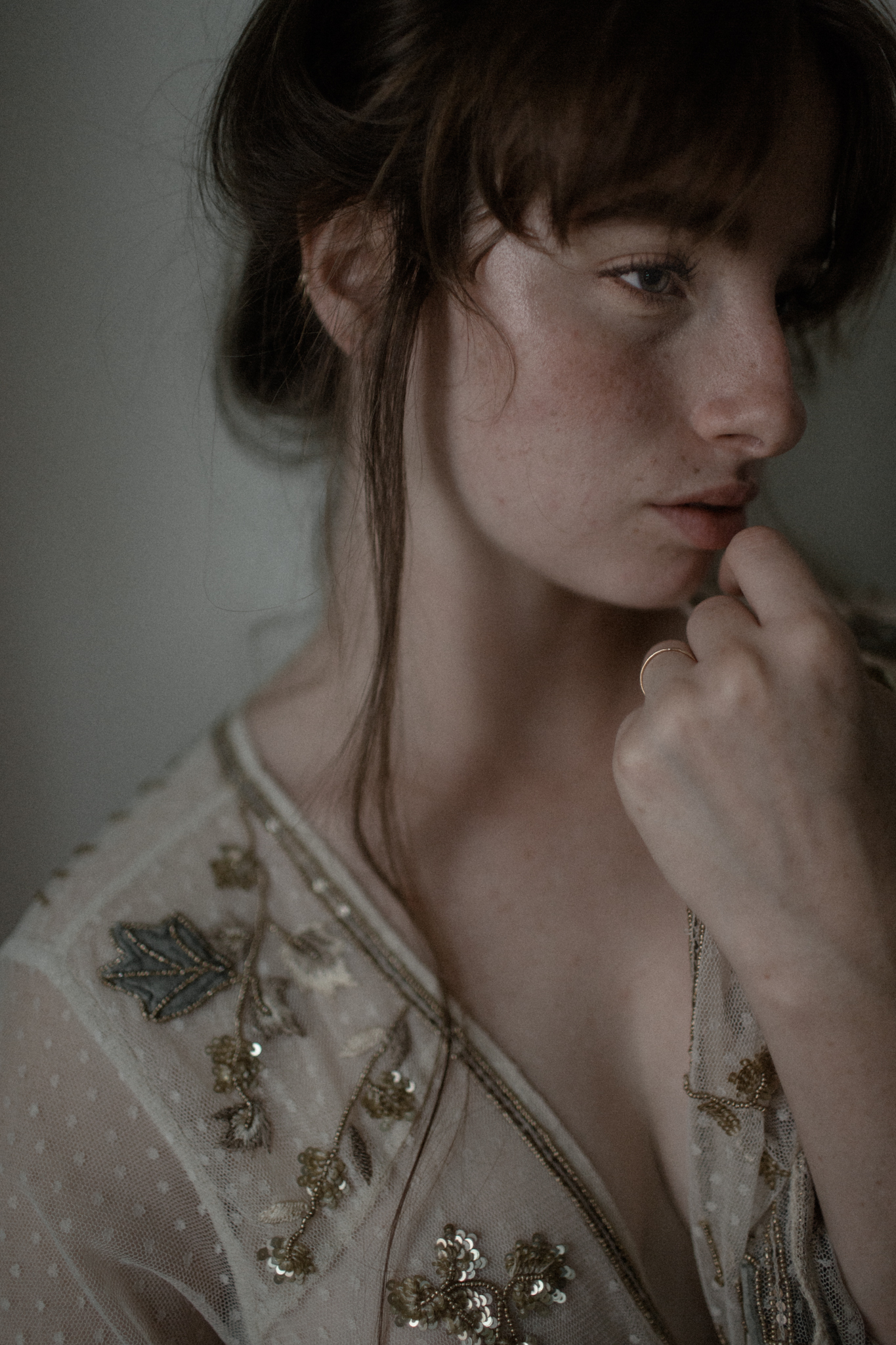 Dreamy free people urban outfitters inspired portrait editorial session Columbus Ohio photographer sarah rose photography