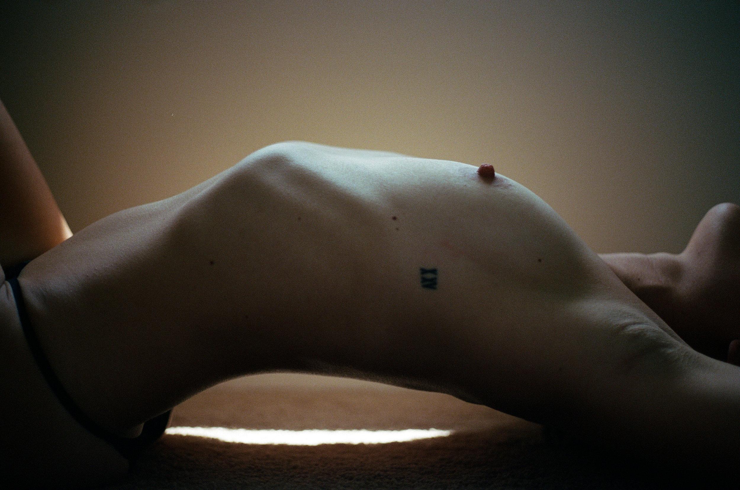 35mm film portrait. artistic nude film photograph. moody film. moody boudoir. canon ae-1. moody portrait. emotional portrait. ohio portrait photographer. sarah rose photography. i am sarah rose.