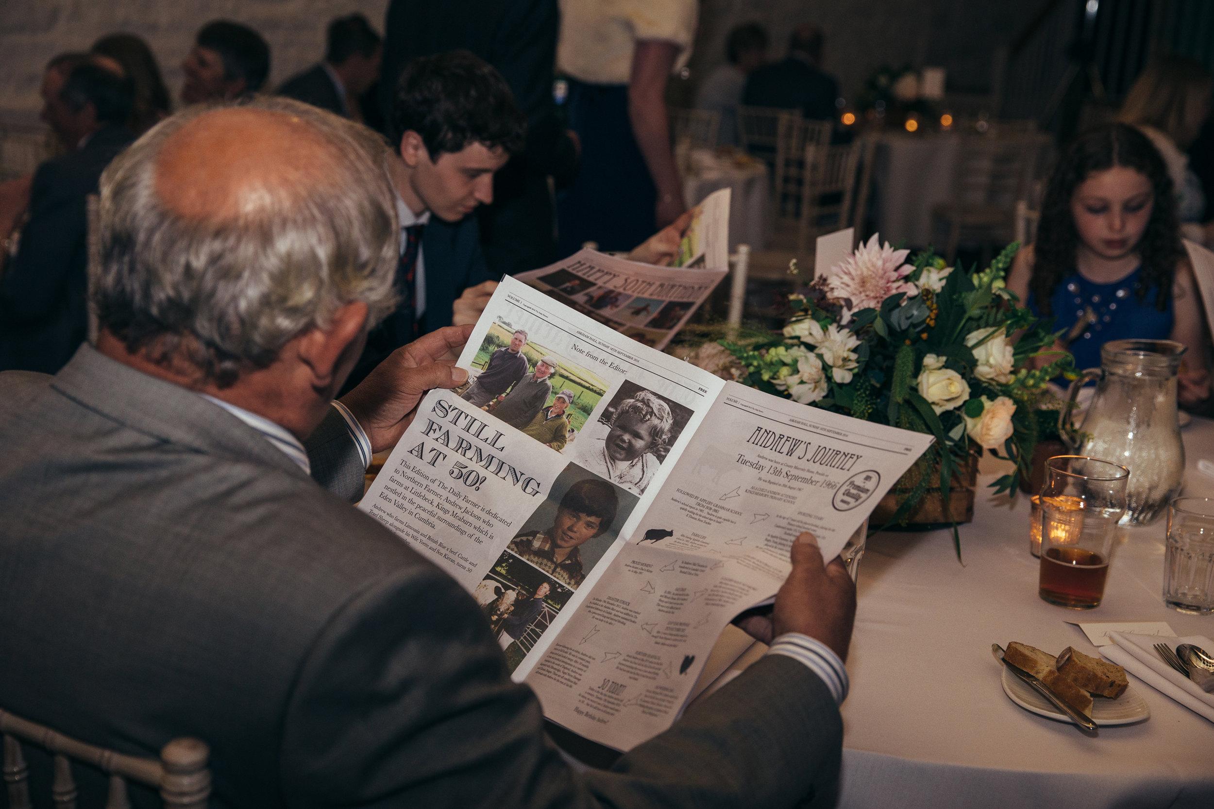 'The Daily Farmer'  -  50th Birthday Newspaper