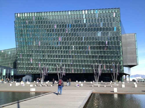 The Harpa Concert Hall and Convention Center - obviously designed by a Caldari...