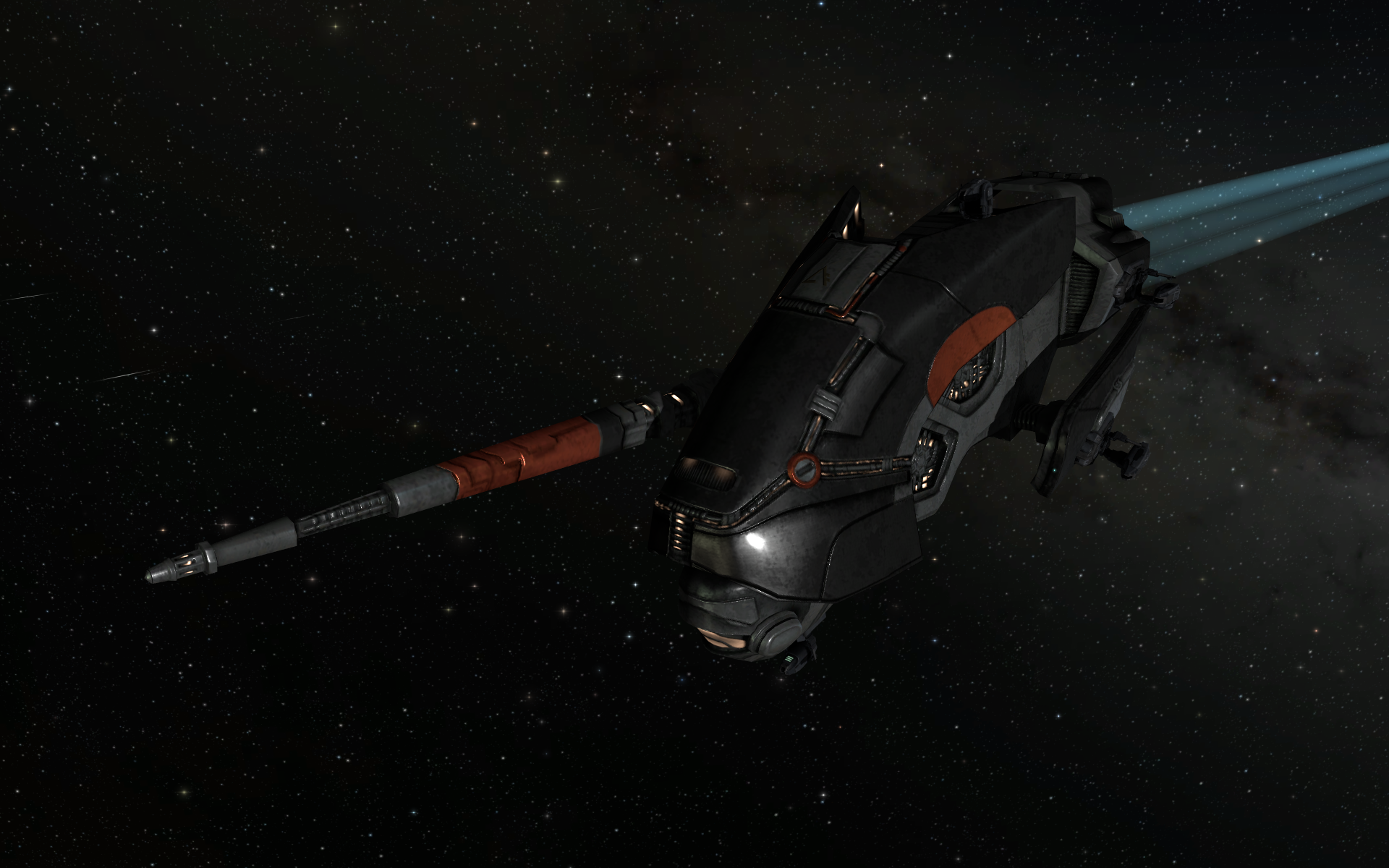 Don't like the dull green and bronze of your standard Incursus? Get the skin for the Aliastra Edition and enjoy your sporty new red, black and grey paint job, instead.